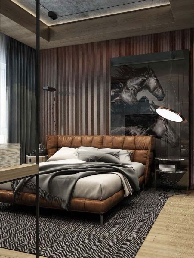 Luxury bedroom interiors