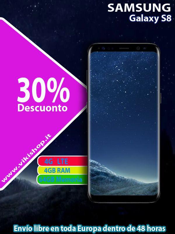 SAMSUNG GALAXY S8 NERO 64GB !♥ Envio Gratis !♥  ►Comprar Ahora: https://lnkd.in/fyM4KhK #vikishop #samsungs8neron #s8españa #libredeenvio #samsungespaña #s8Neron