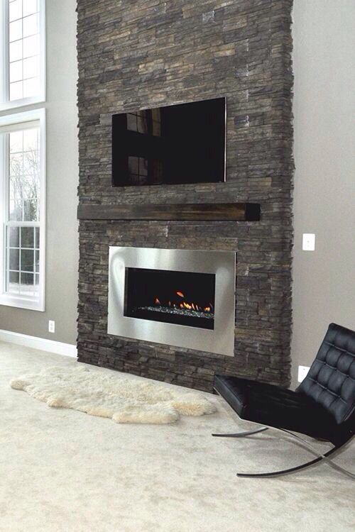 Fireplace In 2019 Living Room With Fireplace Home