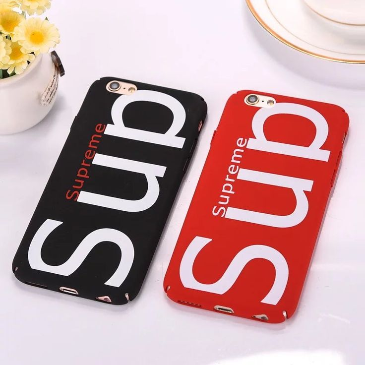 >> Click to Buy << Fashion Supreme Brand Case For iPhone 7 Plus 6 6s Plus 5s SE Luxury Matte Phone Cover Coque Sup logo Luxury Matte Phone Back #Affiliate