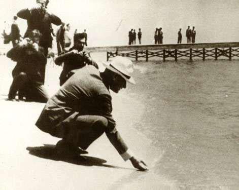 Atatürk Florya'da 16 Ağustos 1935