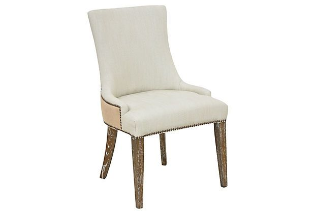 Yorkshire Dining Chair on OneKingsLane.com: Tone Fabric, Dining Room, Dining Chairs, Breakfast Chairs