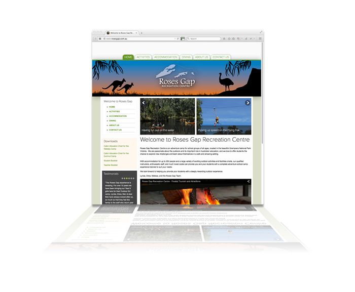 Roses gap Recreation Centre, rosesgap.com.au have upgraded to a Content Management System that's turned their previous website into a device-friendly, easy to navigate & update marketing tool. Designed & developed by Phunkemedia www.phunkemedia.com.