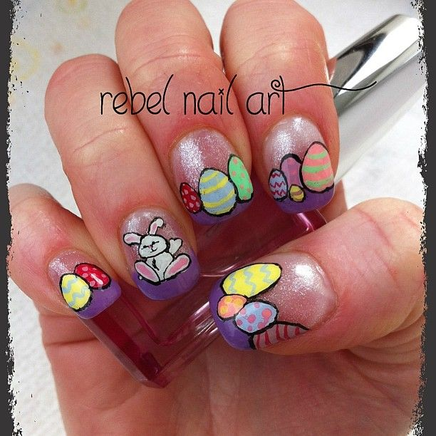 easter by    rebelnailart #nail #nails #nailart