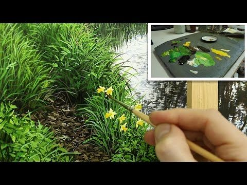#94 Finishing the painting | Daffodils | Oil painting - YouTube