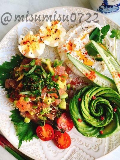 マグロとアボカドのハワイ料理「アヒポキ」 by Misuzuさん | レシピ ...