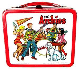 . . .we had metal lunch boxes with thermos' that broke if you were too rough with your lunch box on the way to school. I opened my thermos at lunch to find milk with shards of glass in it way too often.