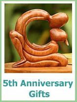 Traditional 5th Anniversary Gifts 5th Anniversary Gift