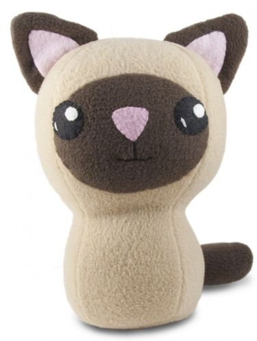 Kawaii Siamese Kitty Plush