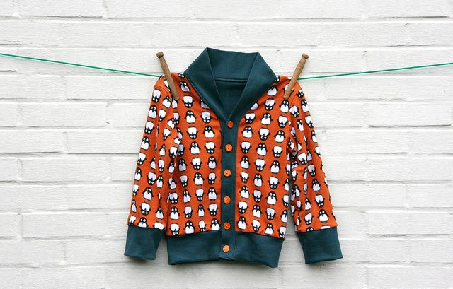 Cardigan for Nils by Mamasha op Flickr, via Flickr