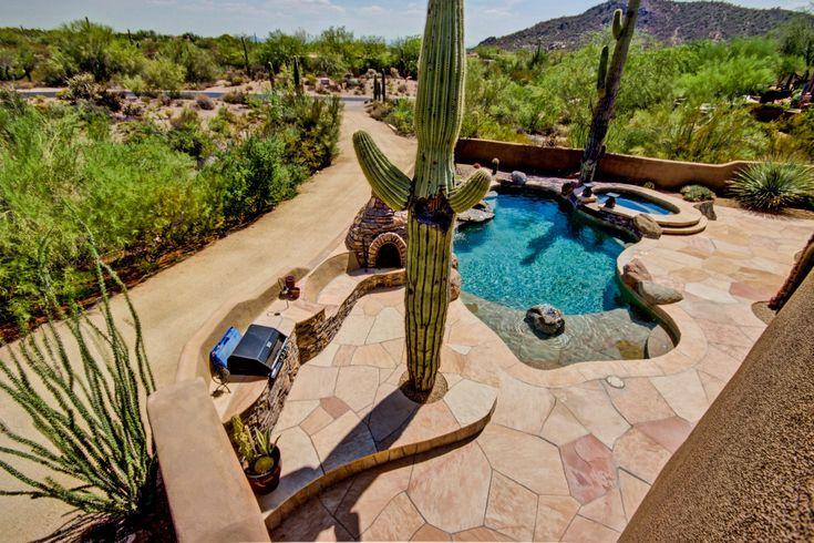 #PremierPoolsandSpas #Pools #FreeformPool #PoolEnvy #ArizonaPool #Arizona #geometricpool #spa #southwesternpool