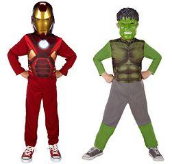 Marvel Avengers Iron Man And Hulk Dress-Up Costume Set Only $5.97 Shipped!