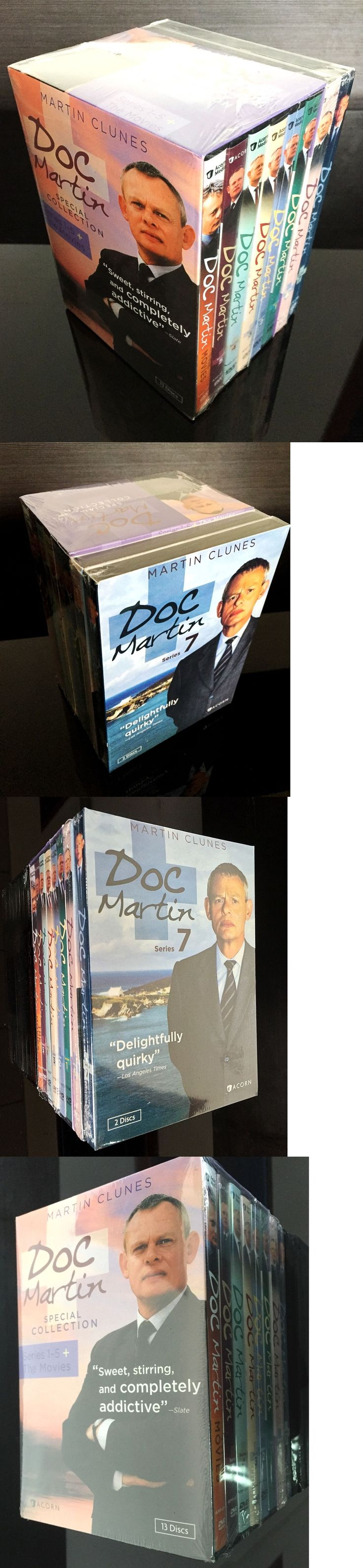 cds dvds vhs: Doc Martin Seasons 1-7 Plus Movies Complete Dvd Set Seasons 1 2 3 4 5 6 7 New -> BUY IT NOW ONLY: $34.2 on eBay!
