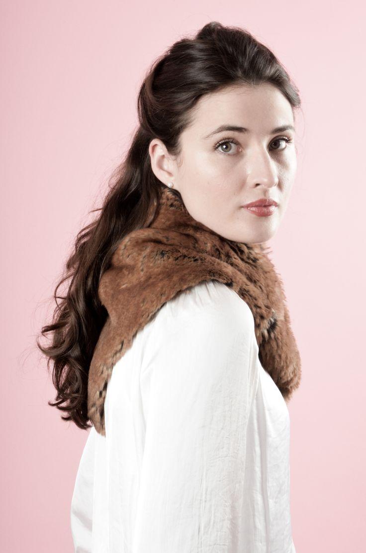 Faux Fur Neckerchief By Blanche in the Brambles