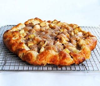 Ina Garten's Apple Crostada - Simply delicious and I make this when I have company with coffee.