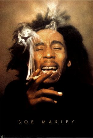 """(Past) 'Some people see Bob Marley as the """"founding father"""" of smoking marijuana.  He publicized it through pictures, through his music, and his green-friendly lifestyle in general.' (Alexa, 2009)"""