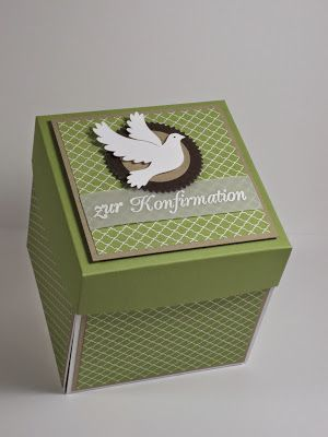 Explosionsbox zur Konfirmation