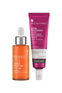 Dull, dry skin, we're breaking up. Use this duo morning and evening for younger looking, radiant skin. It's a new me and I'm not looking back.