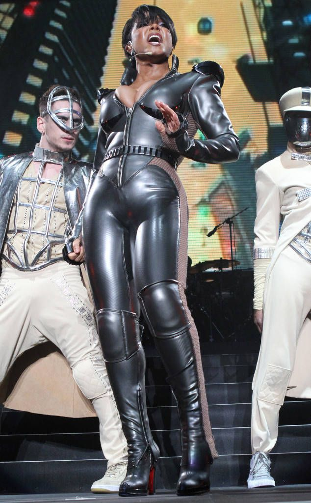 Dominatrix from Janet Jackson's Best Looks From Red Carpet to Concerts