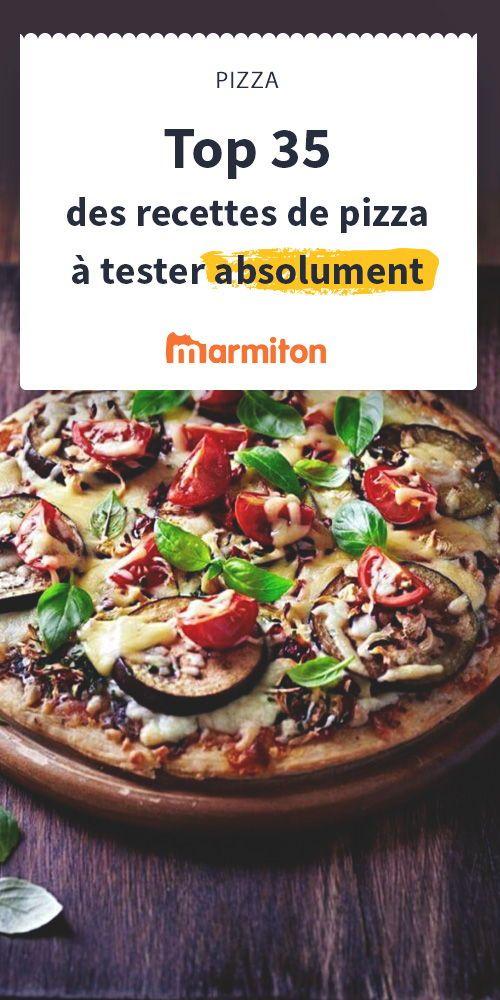 Rien de tel qu'une bonne pizza pour mettre tout le monde d'accord. Découvrez notre sélection de recettes de pizza toutes aussi bonnes les unes que les autres #pizza #marmiton #recette #italie