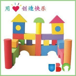 Кэндис го пластиковые детские игрушки строительный блок модели мягкий сейф ЕВА формы блоки играть дома 50 шт./компл. подарок на день рождения рождество настоящее