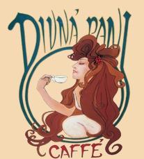 Cafe Divná Pani in Banská Štiavnica.