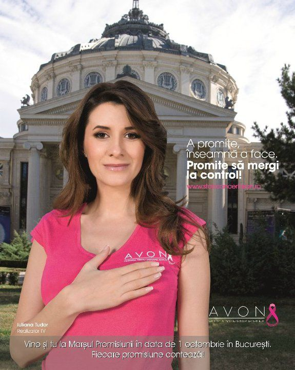 "Iuliana Tudor- Breast Cancer Awarness Campaign ""Promises"""