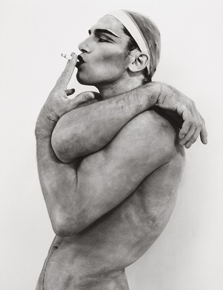 Vladimir I, Hollywood 1990.  Artist: Herb Ritts (1952-2002).  In his life and work, Herb Ritts was drawn to clean lines and strong forms. This graphic simplicity allowed his images to be read and felt instantaneously. His work often challenged conventional notions of gender or race.