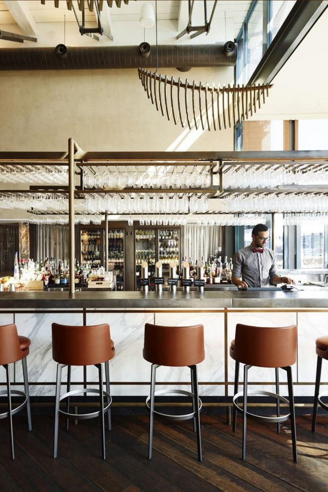 The gantry restaurant bar inside the pier one hotel at for Interior design agency sydney