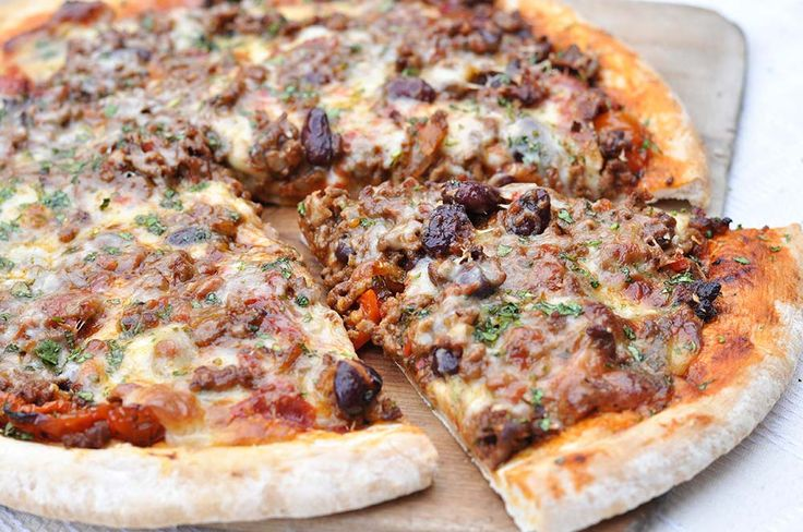 Chilli Meat-Feast Pizza - A Slice Of Tex-Mex Heaven