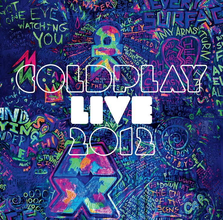 Coldplay Live 2012 - Album Cover #Coldplay #Graffiti # ...
