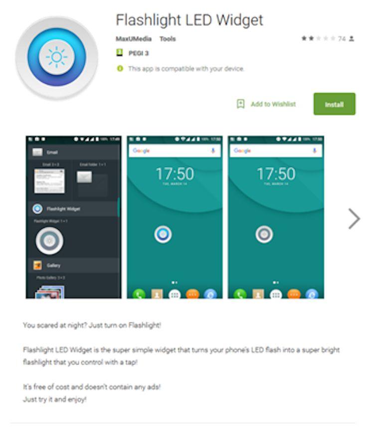 La compañía de seguridad identificó un malware bancario que apuntaba a usuarios de Android a través de una falsa linterna.