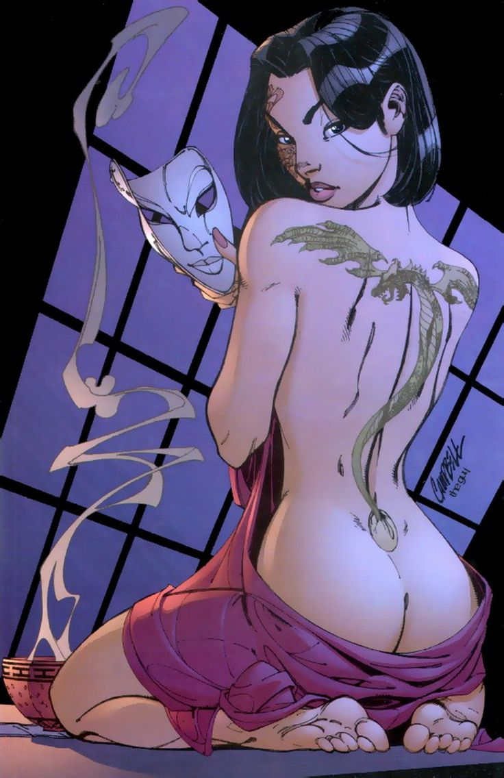 J scott fairytale fantasies art | Scott Campbell - Mulan | Fairy Tale Fantasies
