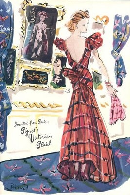 Vogue 1940 - Illustrated by Berard