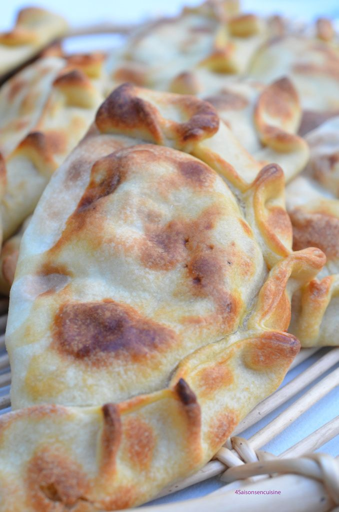 Les véritables Empanadas chiliens de Cécilia