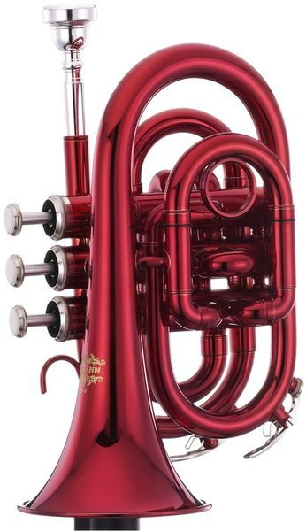Thomann TR 5 red Bb-pocket trumpet #trumpet #thomann