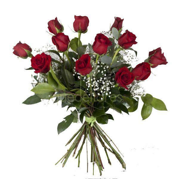 docena de rosas rojas en fin de ao sorprende a tus anfitriones con flores