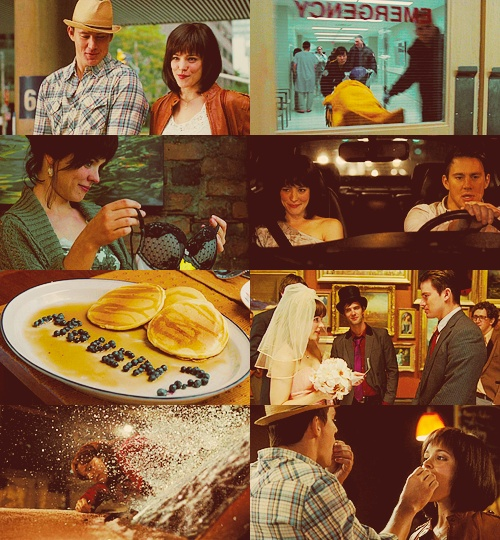 The vow- Channing Tatum and Rachel Mcadams   they were amazing!
