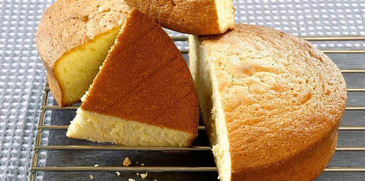 Gâteau de Savoie au micro-onde