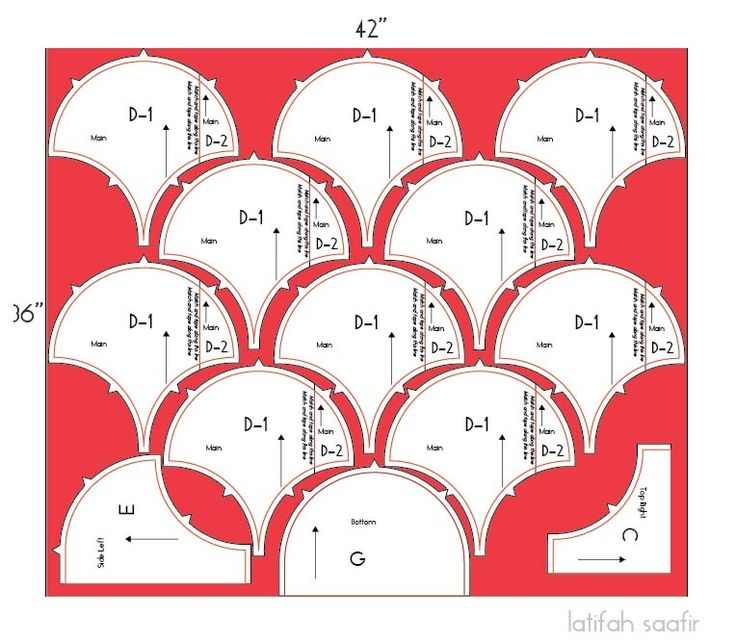 Cutting out your Glam Clam Quilt tutorial » The Quilt Engineer