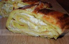 Tojásos – sajtos tekercs | Ottis főz