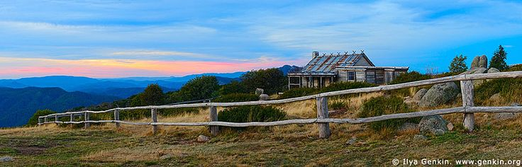 We searched for this up a long, mountain road and found it. What a wonderful spot near Mansfield, Victoria, Australia. It was the set for Jim Craig's hut in The Man From Snowy River.