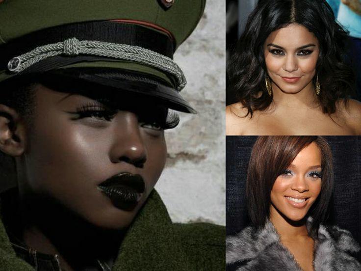 Sexy Medium Black Hairstyles for winter #blackwomenfashion #hairstyles #blackhair