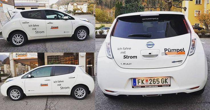 Ich fahre mit Strom von der eigenen Photovoltaikanlage. #bauwelt #pümpel #auto #fuhrpark #elektro #elektroauto #nissan #fuhrpark #emmissionsfrei #umweltfreundlich #photovoltaic #electricity #renewableenergy