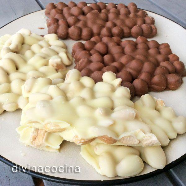 Empedrados de chocolate < Divina Cocina
