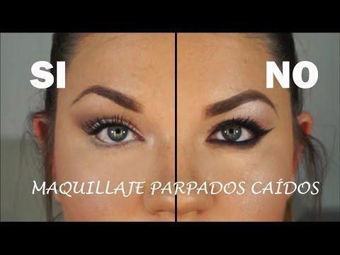 ¿Cómo maquillar los parpados caídos? - ¡¡ FÁCIL !! - YouTube