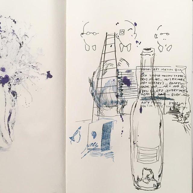 "ayaenomura2017/09/22 "" Ben Match-Box "" ' ' #art #drawing #doodle #artwork #artoftheday #artlife #illust #illustration #instart #instadraw #instaartist #illustagram  #アート #イラスト #スケッチ #デッサン #ペン画 #ayaenomura #nofilter #moleskine #moleskine_arts #モレスキン #インク #ink #inkart #match2017/09/22 23:14:07"