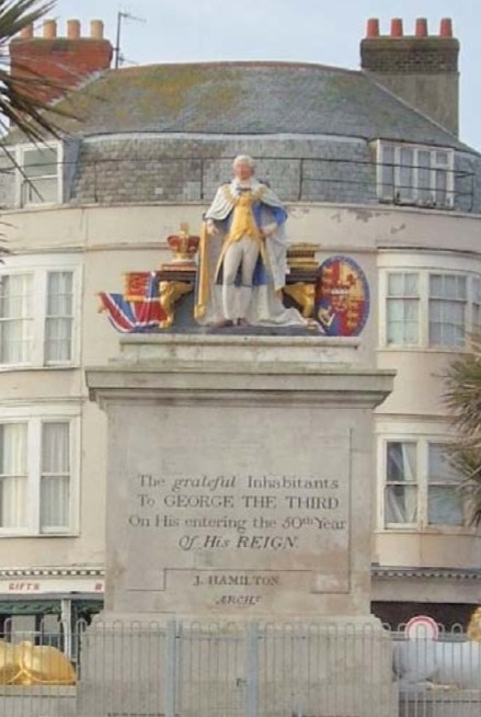 Statue of George III at Weymouth