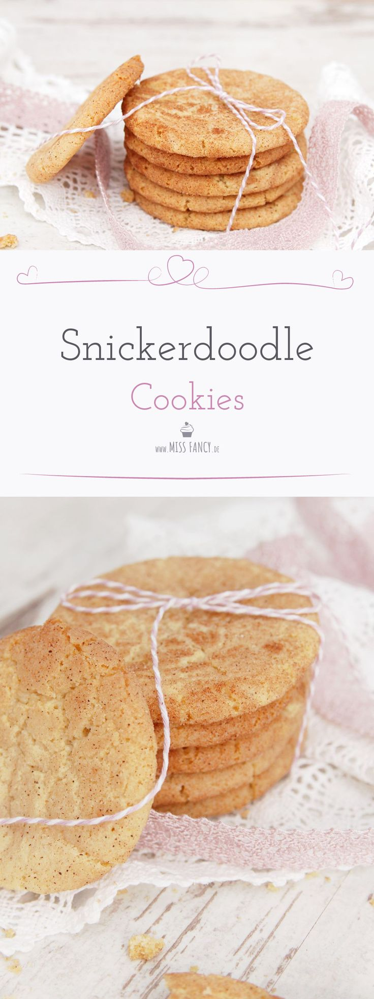 Auch für Weihnachten ein Genuss! Leckere Snickerdoodle Cookies :-) #Snickerdoodle #Cookies #Plätzchen #Gebäck
