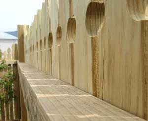 Hayters Timber and Paving supply a variety of fencing materials from hardwoods to treated plantation pine to suit your requirements. You can contact us for stylish and alternative fence and gate designs.